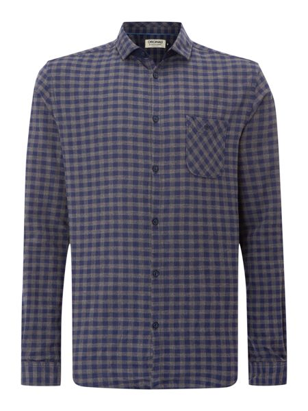 Jack & Jones long sleeved small check shirt