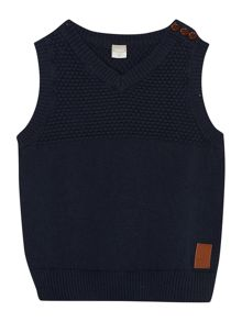Girls velton knit v-neck slipover