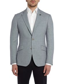 Birdseye Linen Blend Regular Fit Suit