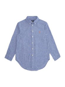 Polo Ralph Lauren Boys Gingham Shirt