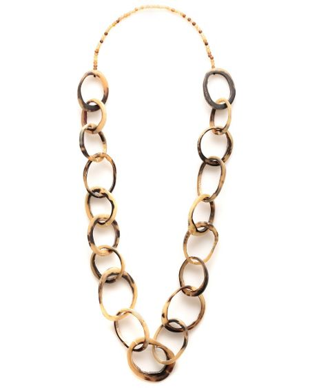 Keeta Horn Link Necklace