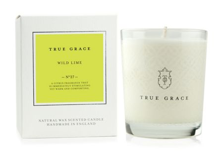 True Grace Village Wild Lime Classic Candle