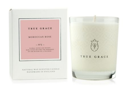 True Grace Village Moroccan Rose Classic Candle