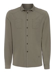 Desert Herringbone Long Sleeve Shirt