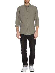 Label Lab Desert Herringbone Long Sleeve Shirt