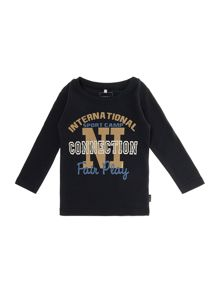 Boys victor long sleeved slim fit tee