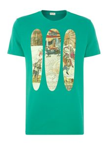 Surfboard t shirt