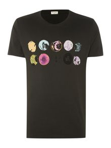 Skate wheels graphic t shirt