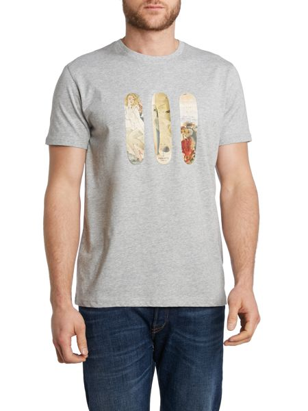 Paul Smith Jeans Skateboard graphic t shirt