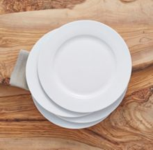 Linea Luna rim set of 4 dinner plate