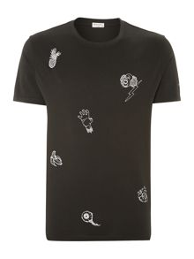 All Over Clown Print T Shirt