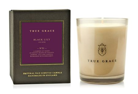 True Grace Manor Black Lily Classic Candle