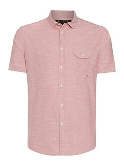 Men's Label Lab Rancho Fine Stripe Short Sleeve