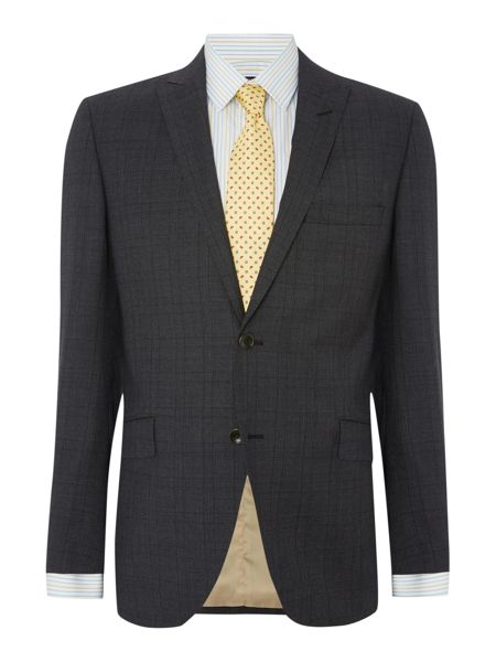 Corsivo Farina Prince of Wales Check Suit Jacket