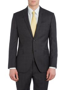 Farina Prince of Wales Check Suit Jacket