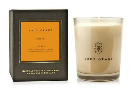 True Grace Manor Amber Classic Candle
