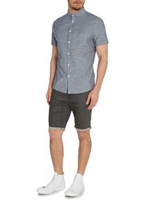 Clovis Fine Stripe Short Sleeve Shirt