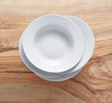 Linea Luna rim set of 4 soup bowl