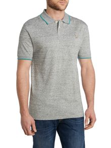 Mercerised cotton short sleeve polo