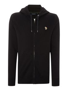Zip up hoodie with front pocket