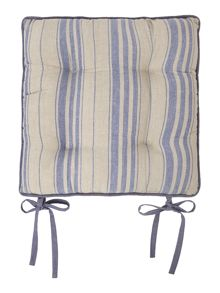 Stripe chair pad