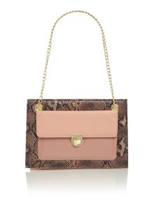 Lottie chain shoulder handbag