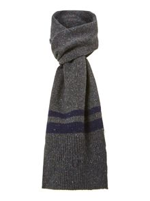Tipped lambswool scarf