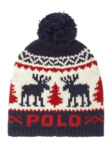 Polo Ralph Lauren Boys Reindeer Hat