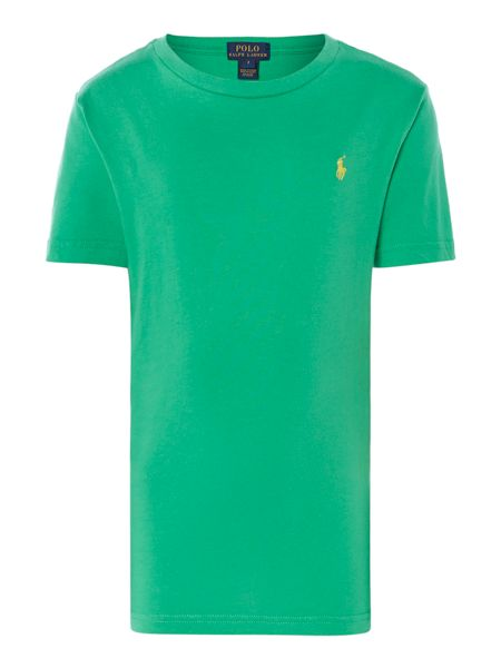 Polo Ralph Lauren Boys Embroidered Crew Neck T-Shirt
