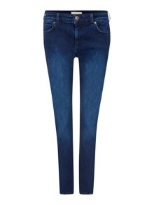 Indigo Denim Soho Slim Leg Jean
