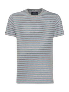 Criminal Bob Rainbow Stripe Tee