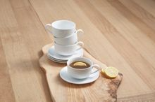 Linea Luna set of 4 cup & saucer