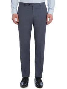 Acario Melange Flat Front Trousers