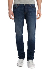 Paul Smith Jeans Tapered leg dark wash jeans