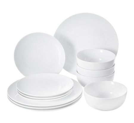 Linea Luna coupe porcelain 12 piece box set