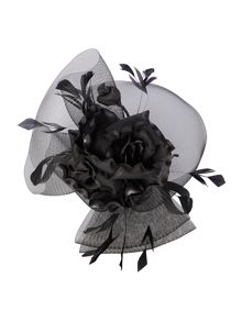 Suzanne Bettley Floral Crinolin Headpiece