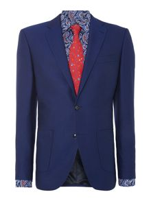 Spindle notch lapel Blazer