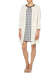 Marella Adelmo 3/4 sleeved boucle coat