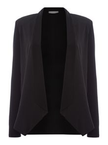 Marella Tarso jersey draped shrug