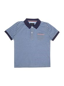Boys clint stripe polo