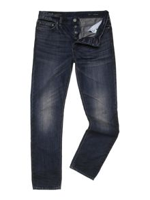 Senator Tapered Leg Light Blast Denim Jean