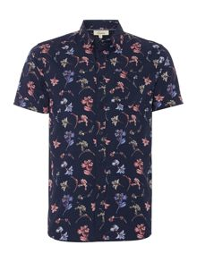 Limited All Over Floral Printed Shirt