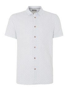 Baker Spot Print Short Sleeve Shirt