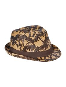 Palm tree trilby