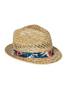 Tropical band trilby