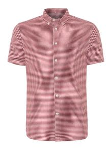 Gordon Short Sleeve Gingham Shirt