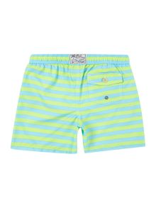 Boys traveller striped shorts