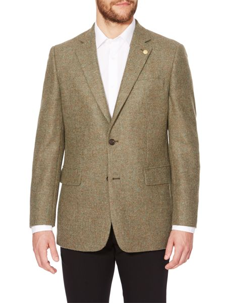 Chester Barrie Plain Notch Collar Tailored Fit Formal Blazer