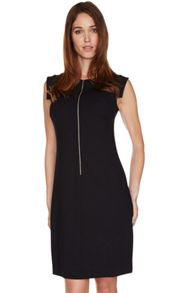 Barbour International Zip front jersey Ventura dress