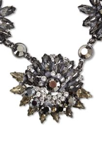 Sparkly Petal Necklace